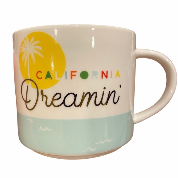 Threshold California Dreamin' large porcelain mug